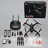 PinPle MJX Bugs 5W FPV RC Drone with 1080P HD Camera, GPS, WiFi, Live Video, APP to Control (Follow Me, Encircling Flight, Trajectory Flight) and Adjustable Wide-Angle Camera Quadcopter with Brushless