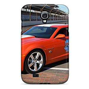 High Impact Dirt/shock Proof Case Cover For Galaxy S4 (chevrolet Camaro Ss Indianapolis Car)