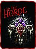 World of Warcraft Horde soft fleece blanket
