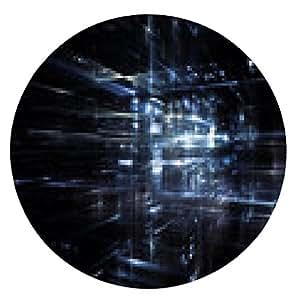 alfombrilla de ratón Luces del Futuro - ronda - 20cm