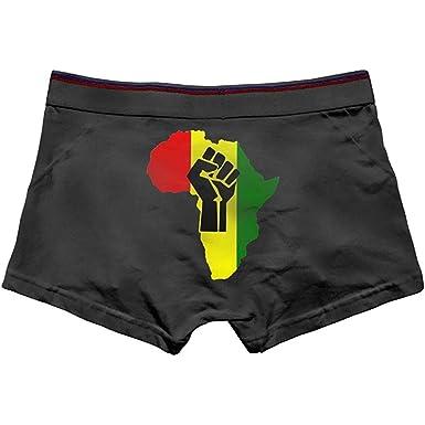 Nancyint Calzoncillos bóxer de algodón Negros africanos para ...