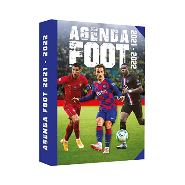 Mon agenda scolaire Foot 2021-2022 1