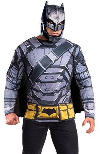 Rubie's Men's Batman v Superman: Dawn of Justice Batman Armored Costume (Top Men's Halloween Costumes 2016)