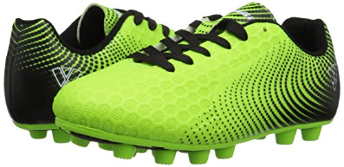 Vizari Unisex Stealth FG Green/Black Size 2 Soccer Shoe M US Little Kid by Vizari (Image #6)
