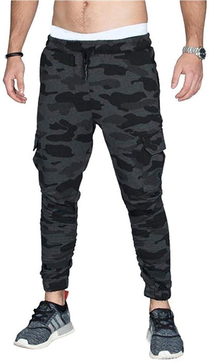HaiDean Pantalones Casuales De Moda para Hombres Y Moda ...