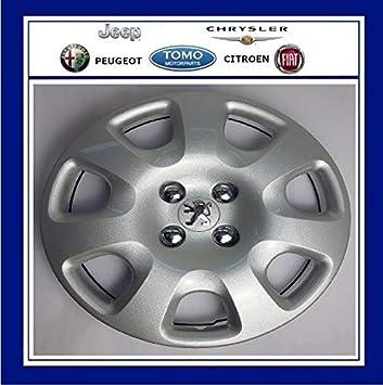 "PSA New Genuine Peugeot 308, Partner & Tepee 15"" Wheel Trim/Hub Cap"