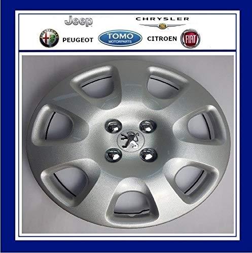 PSA Genuine Peugeot 308, Partner & Tepee tapacubos de 15 Pulgadas X1 5416N1: Amazon.es: Coche y moto