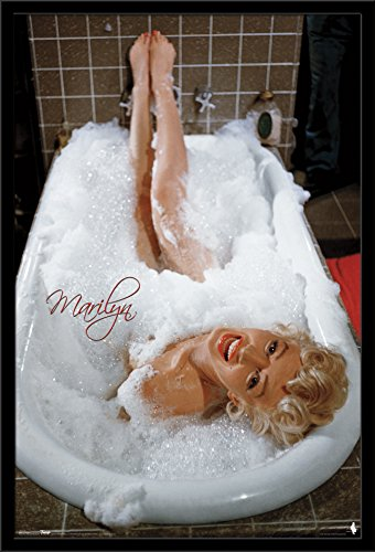 Trends International Marilyn Monroe Tub, 22.375'' x 34'' by Trends International