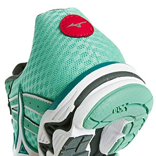 Mizuno Wave Inspire 11 - Zapatillas running para mujer Turquesa
