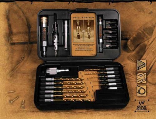 Montana Brand MB-63126 28pc Drill & Drive Set (Made in USA) by Montana