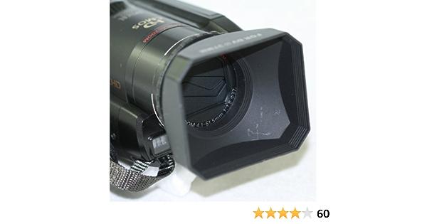 37mm + Nwv Direct Microfiber Cleaning Cloth. Sony HXR-NX70U Pro Digital Lens Hood Collapsible Design