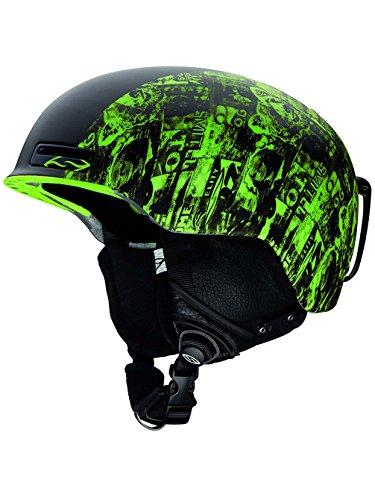 - Smith Maze Helmet Mens Ski Snowboard Protection Safety Headwear - New 2014 (Acid W3, S)
