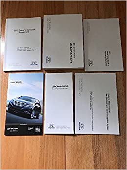 2013 Hyundai Sonata Owners Manual