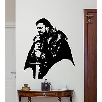 www.19zzz.com/_Amazon.com: Khal Drogo Wall Decal Game Of Thrones Vinyl Sticker Fantasy Movie Wall Art ...
