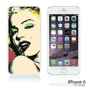 OnlineBestDigitalTM - Celebrity Star Hard Back Case for Apple iPhone 6 (4.7 inch)Smartphone - Marilyn Monroe