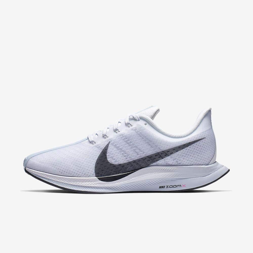 MultiCouleure (blanc noir Half bleu Hyper rose 000) 42 EU Nike W Zoom Pegasus 35 Turbo, Chaussures d'Athlétisme Femme