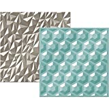 American Crafts Next Level Embossing Folders by We R Memory Keepers-Gemstones