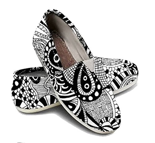 Womens Shoes Adult Color Shoe DIY Kit Painted DIY Shoe Adult Coloring Gifts for Girls Teen Gift ()