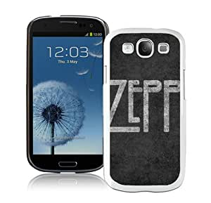 Beautiful And Unique Designed Case For Samsung Galaxy S3 With Led Zepplin Letters Background Font Sign (2) Phone Case