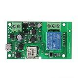 FidgetFidget Smart Wireless WiFi Switch Relay Module APP Control DC 5V-32V Jog Self-Lock