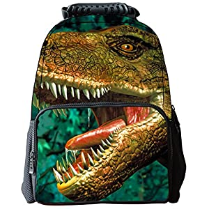 Rosing House Outdoor 3D Animal laptop Casual Cute Backpack (Dinosaur)