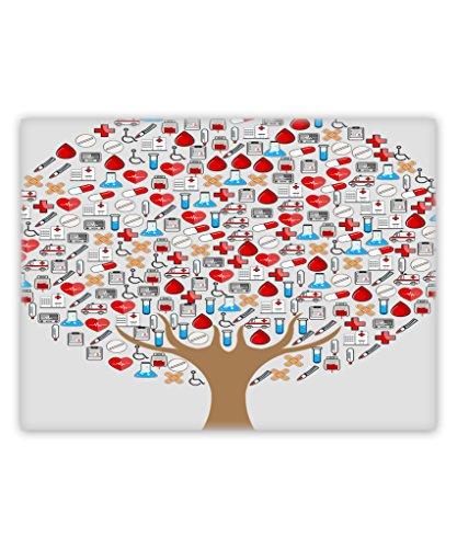 - Awesome Fun Stuff Nurse Canvas Wall Art Home Decor Framed Medicine Tree of Life (30 x 40)