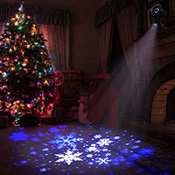 Amazon Com Eambrite Christmas Projector Lights Led White