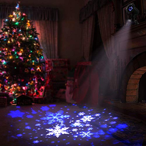 Outdoor Snowflake Light Projector in US - 7
