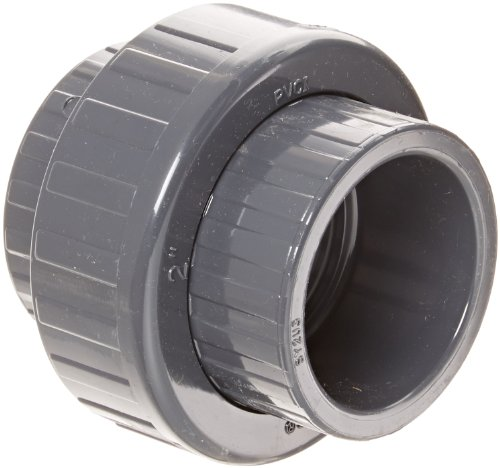 857 Series (Spears 857 Series PVC Pipe Fitting, Union with Viton O-Ring, Schedule 80, 2