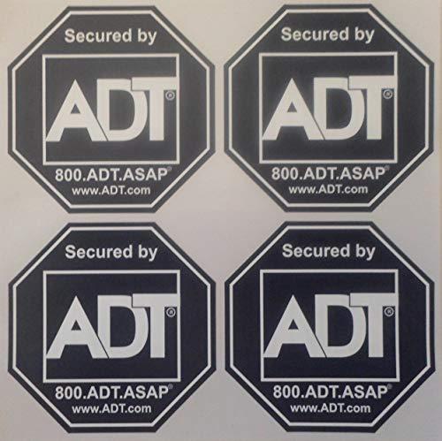 ADT Window Sticker Decal, Authentic ...