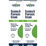 Natralia Eczema & Psoriasis Cream, 2 Ounce Tube (Pack of 2) Flare Control Cream to Relieve Rash, Irritation, Itching & Redness Associated with Eczema, Psoriasis and Dermatitis Review