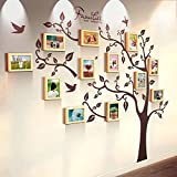 Photo Wall, 7 Inch Frame Wall Stickers, Restaurant Bedroom Living Room Office Photo Wall, Big Wall 12 Frame Creative Wall Ornament ( Color : 3# )