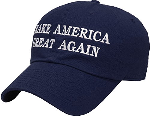 KBETHOS Make America Great Again - Donald Trump 2016 Campaign Cap Hat (003) Navy by KBETHOS