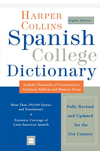 HarperCollins Spanish College Dictionary 8th Edition