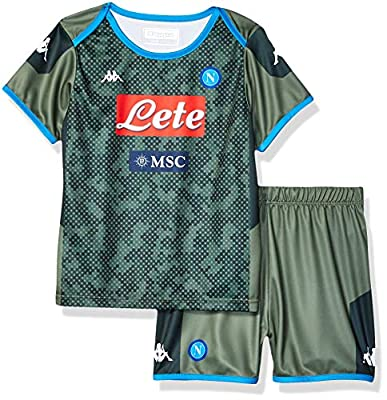 Ssc Napoli Italian Serie A Baby Away Match Kit