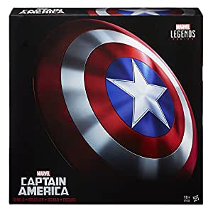 Avengers Marvel - Figura de Escudo Real Captain America, Legends (Hasbro B7436EU4)