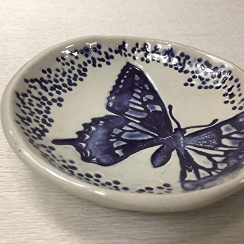 - JANECKA Purple Butterfly Soap Dish 4