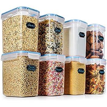 Amazon Com Cereal Container Verones 6 Piece Large