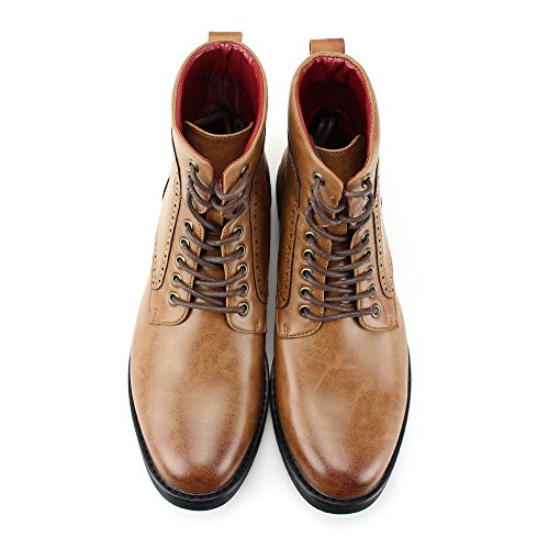4 Tan Casual Fashion Lightweight 718 and 3 Comfortable Style 6718 Boots Boots 7w1nxaHqBF