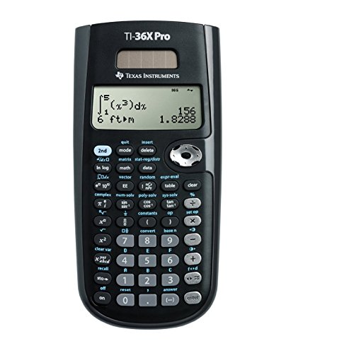 Texas Instruments TI36XPRO TI-36X Pro Scientific Calculator, 16-Digit LCD Photo #5