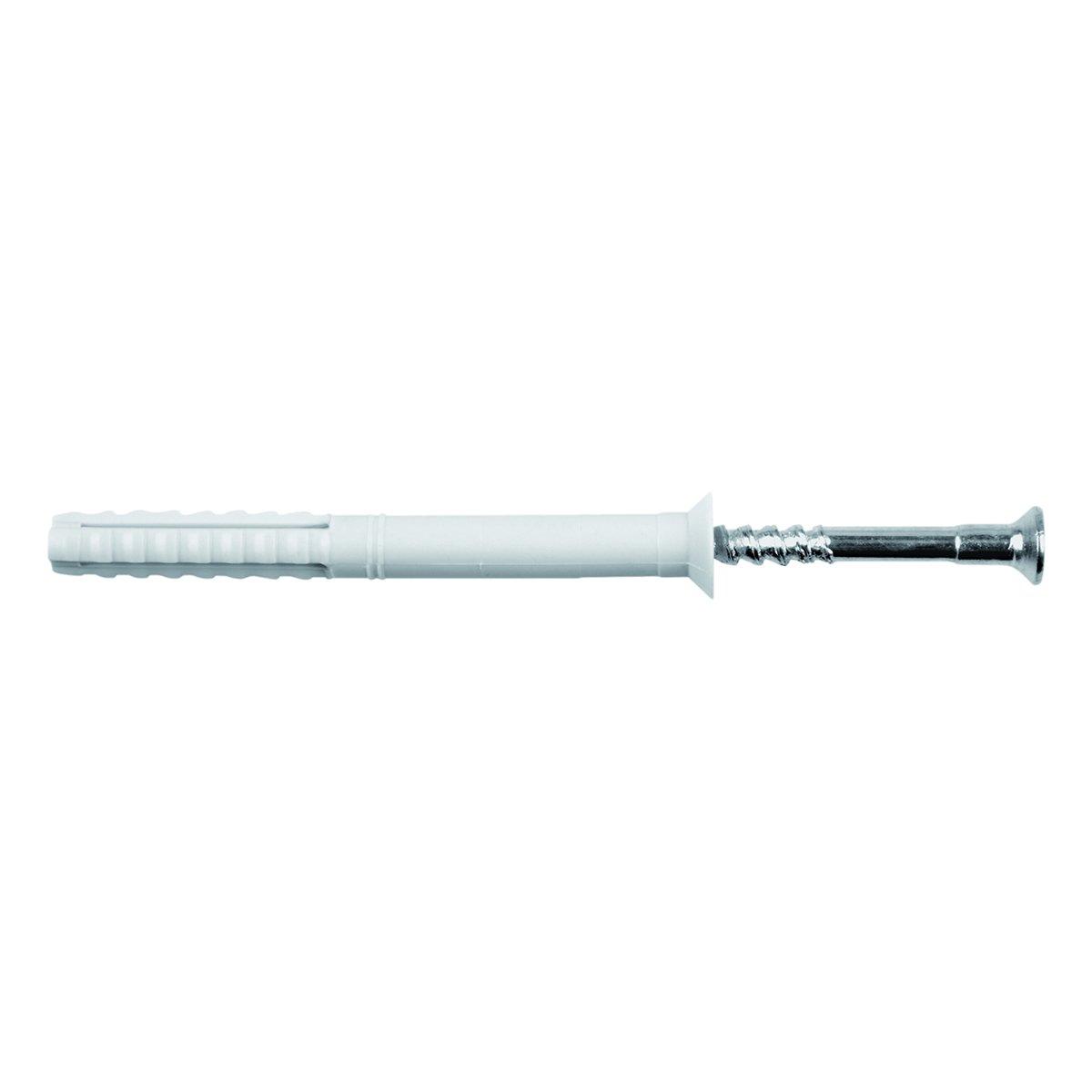 TOX 017102281 - Tasselli multiuso Attack, 8 x 140 mm, 50 tasselli e 50 viti