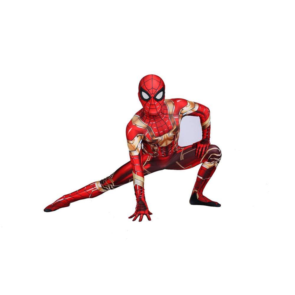 QXMEI Golden Spider-Man Cosplay Rollenspiele Für Kinder Halloween Unisex,damen-L B07M7YNQNC Kostüme für Kinder Bekannt für seine hervorragende Qualität    Schöne Kunst