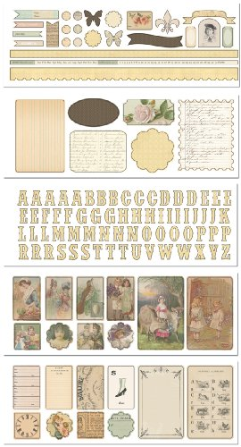 Melissa Frances Attic Treasures Sticker for Book - Melissa Frances Album