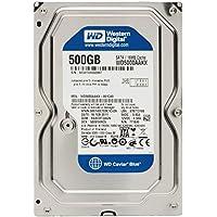 Western Digital (WD) Caviar Blue 500 GB (500gb) SATA III 7200 RPM 16 MB Cache Bulk/OEM Desktop Hard Drive for PC, Mac, CCTV DVR, NAS, RAID- 1 Year Warranty