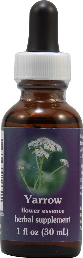 Flower Essence Services Yarrow Dropper Herbal Supplements, 1 Ounce