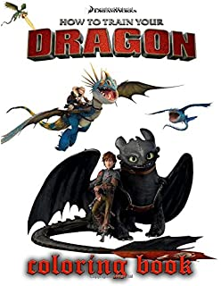 How To Train Your Dragon Coloring Book Great Pages For Kids 30 Illustrations