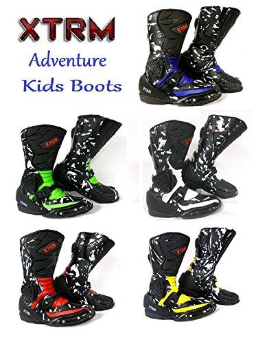 XTRM MOTORBIKE BOOTS ADVENTURE KIDS