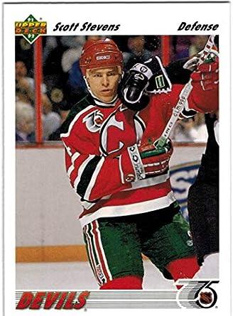 factory price 8d6b7 279c2 Amazon.com: 1991-92 Upper Deck New Jersey Devils Team Set ...