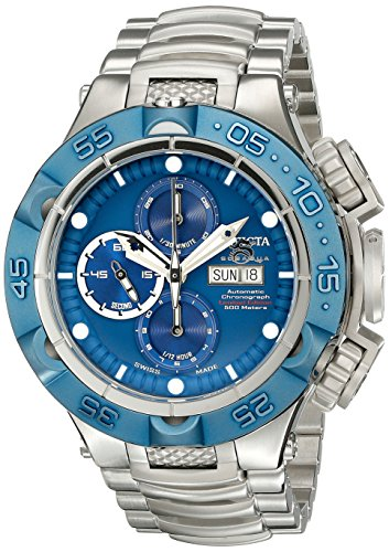 Invicta Men's 15494 Subaqua Analog Display Swiss Automatic Silver Watch