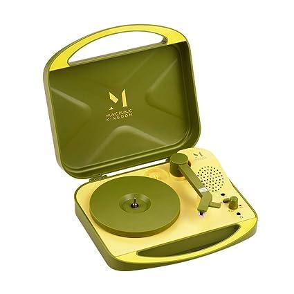 Muslady Grammophon - Tocadiscos de vinilo de 7 pulgadas (portátil ...